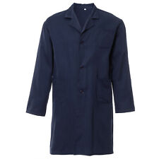 Lab Coat Hygiene Food Industry Warehouse Doctors Laboratory Medical Coat Navy