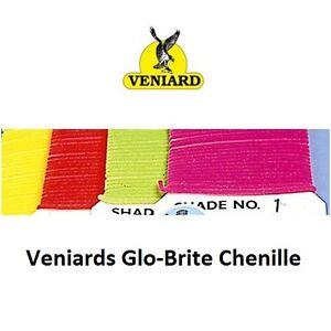 Veniards Glo-Brite Suede Chenille * NEW 2020 STOCKS *