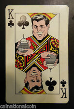 Humor House Inc. Kennedy Kards King of Clubs Playing Card 1963