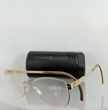 Brand New Authentic ic! Berlin Eyeglasses LIGHTLY Rose Gold 49mm Frame
