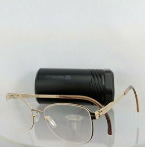 Brand New Authentic ic! Berlin Eyeglasses LIGHTLY Rose Gold 49mm Frame