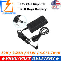 45W AC Adapter Charger For Lenovo Ideapad 110-14IBR 110-15IBR Power Supply Cord