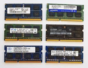 "4GB DDR3 1600MHz SODIMM RAM ~ for 2012 & 2013 Apple 27"" iMac & Mac Mini Memory"