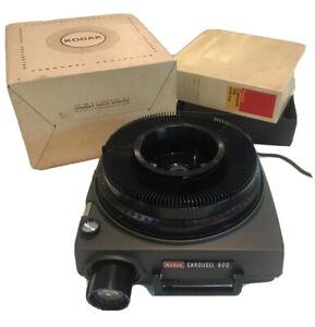 Vintage Kodak Carousel 800 Slide Projector. FOR REPAIR READ DESC. Won't Advance.