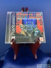 Crypt Killer Complete Tested Sony Playstation