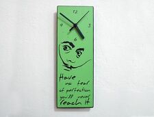 Dali Quote Have No Fear Of Perfection You'll Never Reach It - Wall Clock