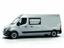Renault Master LWB 2010 on n/s front fixed bonded in privacy glass.
