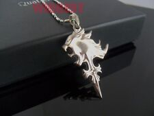 Final Fantasy VIII 8 Griever Squall Leonhart Lion Head Cosplay Pendant Necklace