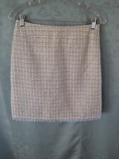 90's Nwt Uniform John Paul Richard Size 6 Boucle Wiggle Skirt