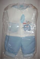 BNWT Baby C 2-Piece Boys Jacket & Trousers Set (6-9m, Light Blue) by Chambo