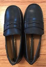 Geox Kids Black Moc Loafer Size US 11 EU 29 New In Box Very Cute