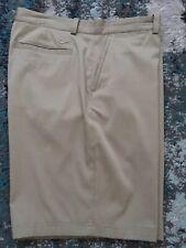 Nike Men's Dri fit Golf Shorts size 36 Tan Euc