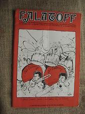 French Cartoon/Humor Magazine Falatoff #24/25 Jan/Feb 1974