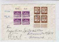 germany berlin 1963 stamps blocks   stamps cover ref r19707