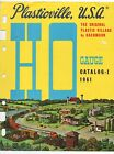 1961 HO Gauge Advertising Brochure Plasticville USA Plastic Village by Bachman