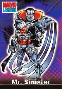 MR. SINISTER / Marvel Legends (Topps 2001) BASE Trading Card #44