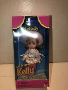 Mattel Melody Lil Friends Of Kelly Baby Sister Of Barbie!