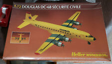 Heller 1/72 Douglas DC-6B Securite Civile Aircraft Great Condition Very Rare