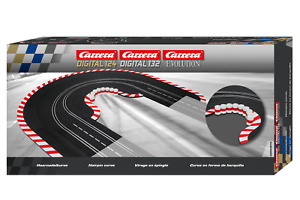 Carrera 20613 Radius 1/60 Hairpin Curve Track for 1/24 & 1/32 Slot Car Tracks