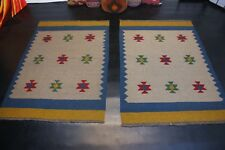 Handgewebter Perser Teppich 2x Ghashgai Nomaden Kelim Unikat Natur Farbe Kilim