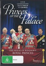 PRINCES OF THE PALACE -  FOUR GENERATIONS FROM PHILIP TO GEORGE - DVD