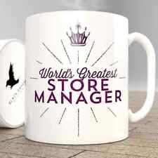 World's Greatest Store Manager-Tazza
