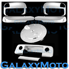 10-15 Dodge Ram 2500+3500+HD Chrome Towing Mirror+ARM+Tailgate w/CM Ho+GAS Cover