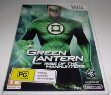 The Green Lantern Nintendo Wii PAL *Complete* Wii U Compatible