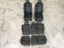 13-2014 FORD FOCUS ST OEM BLACK LEATHER RECARO BUCKET RACING SEATS FRONT REAR