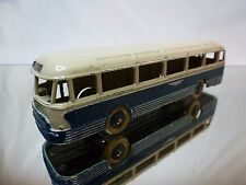 DINKY TOYS 29F AUTOCAR CHAUSSON BUS - BLUE CREAM - VERY GOOD CONDITION
