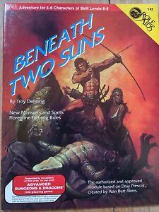 Beneath Two Suns 742 Adventure Module - Role Aids - AD&D