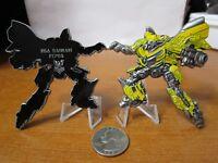 Naval Support Activity Bahrain FCPOA Transformers Bumblebee CPO Challenge Coin