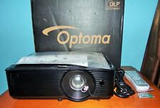 Optoma HD243X DLP 1080P Projector  OPEN BOX 4 Total Hours Mint Condition