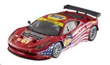 Ferrari 458 Italia GT 2 GTE (2012) # 61 Le Mans in 1:18 Hot Wheels Elite BCT78