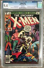 X-Men #132 (1980) CGC 9.4 -- White pages! Mastermind revealed; Hellfire Club app