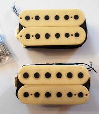 Neuf Set Humbuckers - cream color -  pour guitare HH