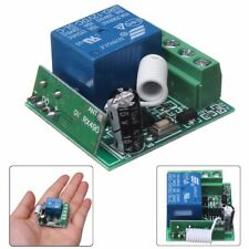 433MHz 1Channel Wireless Relay RF Remote Control Switch Receiver DC12V 10A 100M