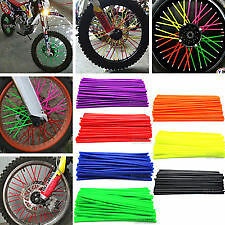 COUVRE RAYON / SPOKE SKIN MOTO CROSS JANTE 10 COLORIS 72 PCS YZ  80 125 250 450