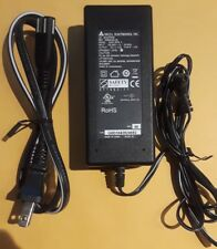 Lot Of (5) POWER SUPPLY AC ADAPTER 12V DC 2.5 A 12 volt AMP DELTA