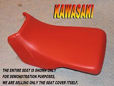 Kawasaki Bayou 300 1986-04 New seat cover KLF300 KLF 2X4 KLF300B A B  Red 916E