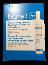 NEW MURAD Transforming Powder Dual-Action Cleanser & Exfoliator .043 oz/1.2g