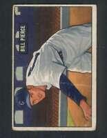 1951 Bowman #196 Billy Pierce VG/VGEX RC Rookie White Sox 105129