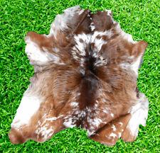"""New Cowhide Rug Hair On COW HIDE RUG Area Rug (30"""" x 29"""") CowSkin Hide 6 SF"""