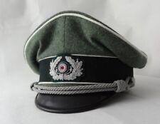 Schirmmütze Offizier Wehrmacht Infanterie WK2 55,5cm,57cm,57,5cm, 62cm, 63cm
