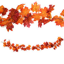 Autumn Maple Leaves / Leaf Hanging Garland - Halloween / Thanksgiving - 160cm
