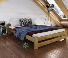 "*NODAX*Wooden Furniture Solid Pine 3ft, 4ft, 4ft6in, 5ft UK Size Oak Colour ""F3"""