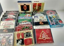 Lot of 27 Christmas CDs Mannheim Steamrollers, Beach Boys, Swing, The Nutcracker