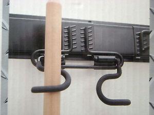 Zubehöhr Garagen Ordnungssystem Unitec Wandleiste Besenhalter Schlauchhalter NEU