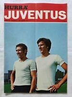 HURRA' JUVENTUS N. 9 SETTEMBRE 1974 CARLO PAROLA CALENDARIO CAMPIONATO SCIREA