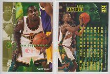 NBA FLEER 1995-1996 SERIES 2 - Gary Payton, Sonics # 324 - Near Mint